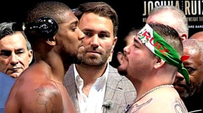 Criticism of Saudi Arabia as fight venue for Joshua vs Ruiz Jr