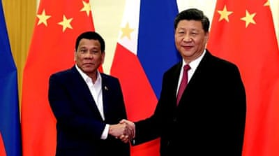 South China Sea dispute to dominate Duterte's China visit