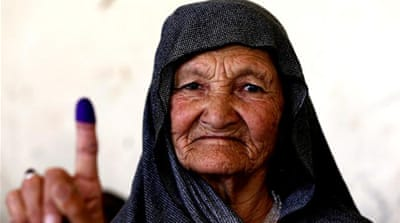 Afghanistan elections: US calls for transparent process