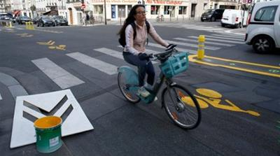 Cycling lanes: Europe rethinks public transport as cities reopen