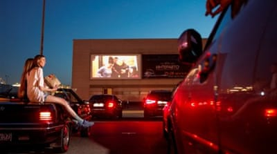 US: Drive-in cinemas make a comeback amid COVID-19 pandemic