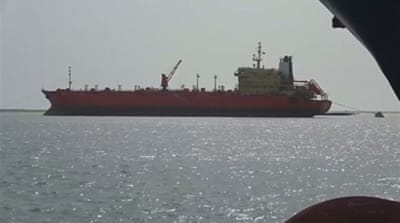 UN warns over oil tanker stranded off Yemen coast for years