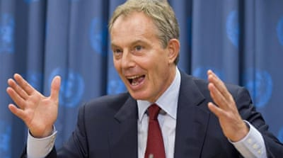 Blair ignoring history?