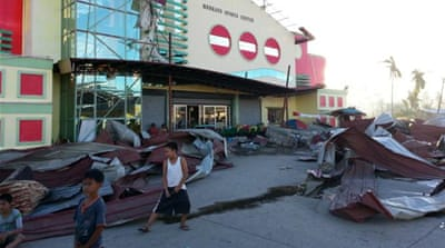 Typhoon Bopha: A tale of two stories