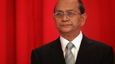 And now for the Thein Sein show