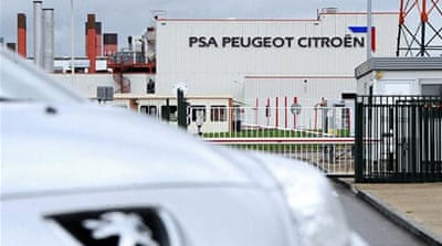 Job cuts at Peugeot Citroen infuriates unions