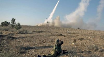 Iron Dome v rocket