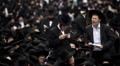 Israel's Ultra-Orthodox Jews up in arms