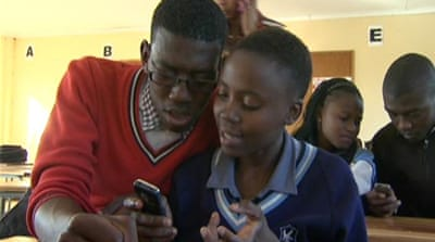 South Africa youth tap into gender app