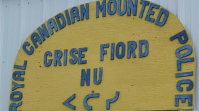 Arriving safely in Grise Fiord