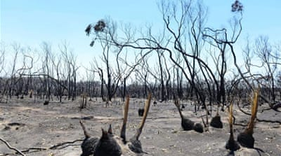 Research helping to fight Australian fires