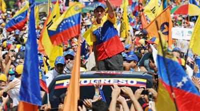 Venezuela opposition flexes muscles