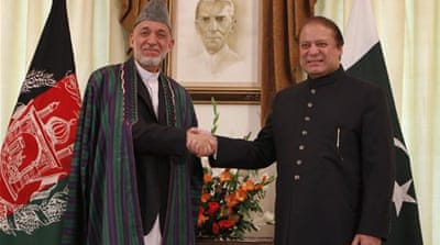 Karzai mends fences with Pakistan