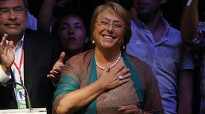 Bachelet has her work cut out in Chile