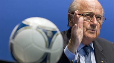Blatter's new role as anti-racism crusader