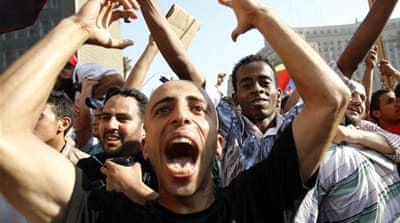 Celebration and scepticism in Tahrir
