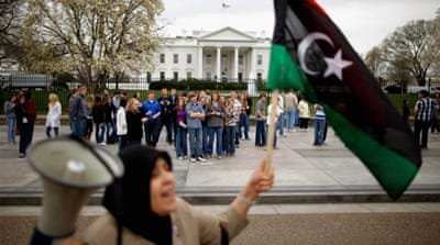 US public opinion wavers on Libya