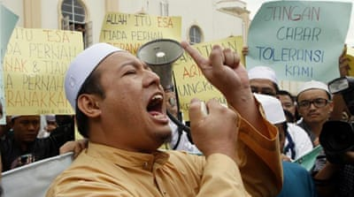 Malaysia court rules 'Allah' only for Muslims