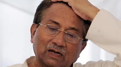 The changing fortunes of Musharraf