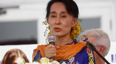 Myanmar asks more from Suu Kyi's NLD