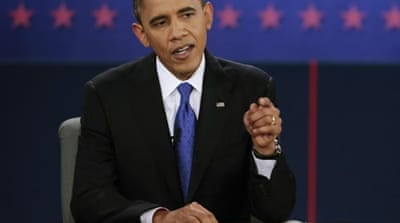 Obama dominates third presidential debate