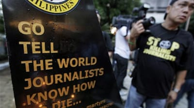 Journalists easy targets in the Philippines