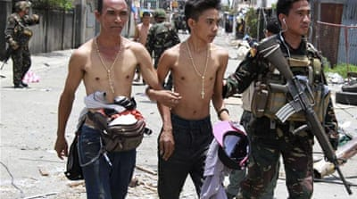 Philippine conflict's 'collateral damage'