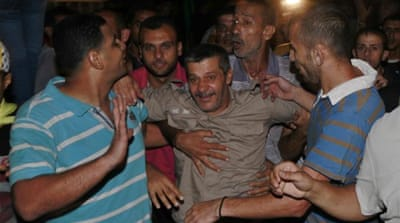 Families jubilant as prisoners return to Gaza