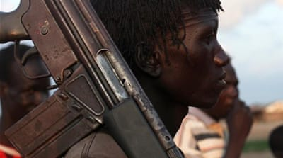South Sudan's boys take up arms