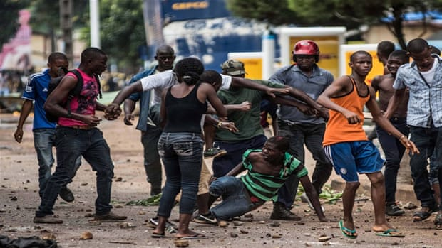 Deadly clashes flare ahead of Guinea election