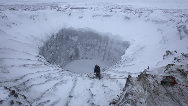 Siberia's melting permafrost fuels climate change