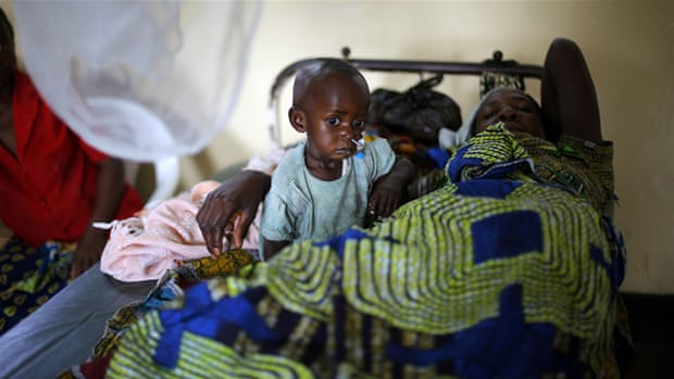 Twenty African countries account for 90 percent of global malaria cases [AP]