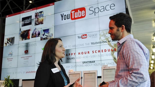 YouTube content creators Benny Fine, left, and Rafi Fine discuss the website launched 10 years ago [AP]