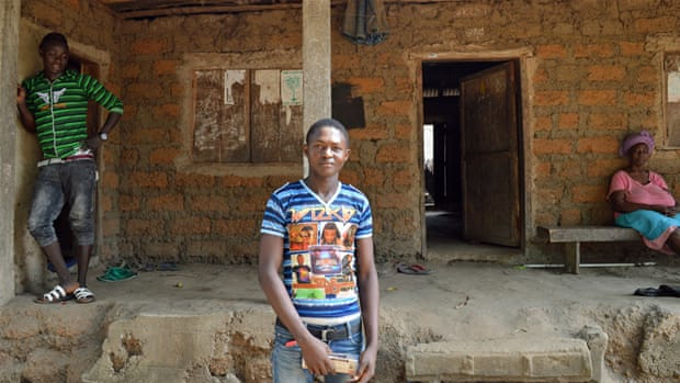 Ninety people died from Ebola in Kagbantama, a town of just 1,000 inhabitants [Dariusz Dziewanski/Al Jazeera]