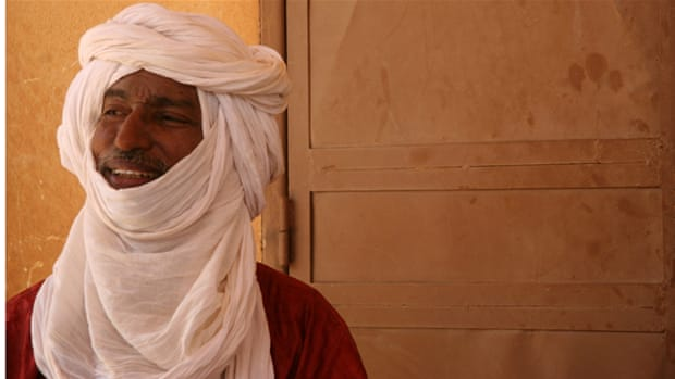 Fighters from the Tuareg separatist rebel group in Mali [Reuters]