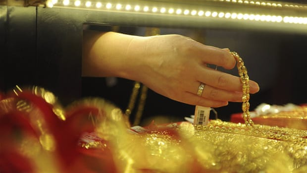 China clamours to set global gold prices