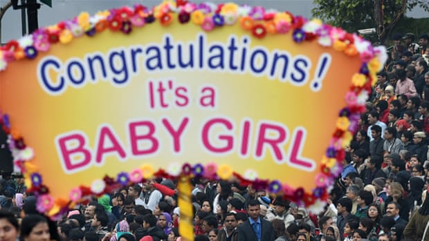 Female foeticide, India's 'ticking bomb'