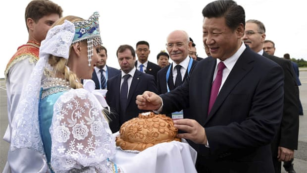 A Sino-Russian alliance to rival Europe