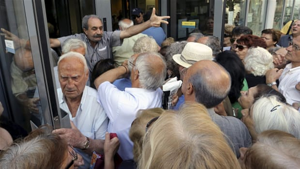 Greece simmers ahead of Sunday referendum