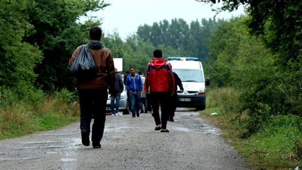 France: Where refugees go to avoid 'the jungle'