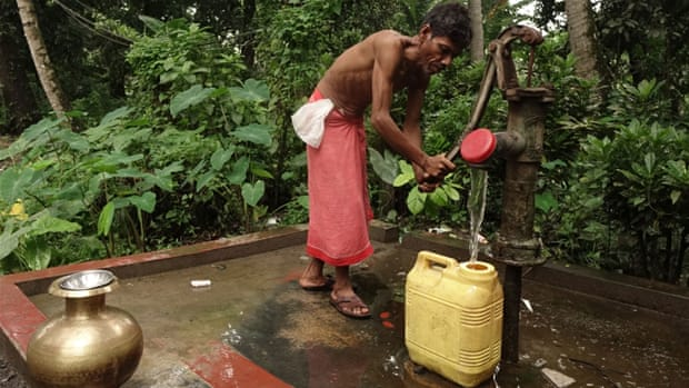 In India's 'arsenic belt', water project brings relief
