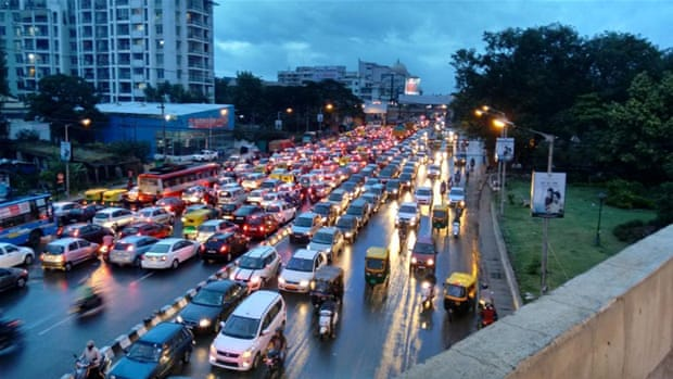 Bengaluru, the Uber app and poverty in India