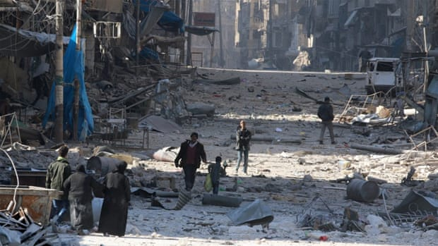 Amnesty International give Aleppo bombings a new sense of reality