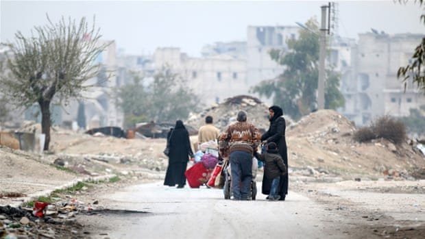 Even as the bombs rain on Syria, hope for a better future