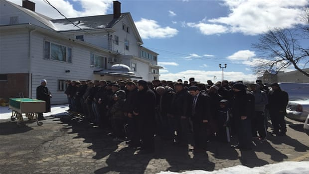 What is a Muslim funeral like in New York?