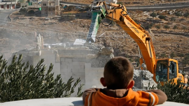 Broken homes: A record year of Israeli demolitions