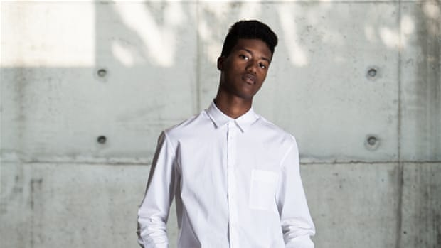 South Korea's first black model