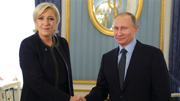 France, the National Front and Russia