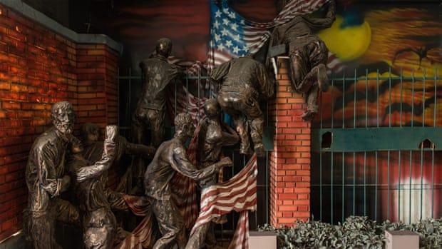 Inside Tehran's monument to US 'arrogance'
