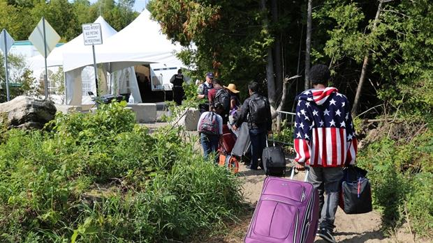 In pursuit of asylum on the US-Canada border